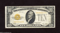 Small Size:Gold Certificates, Fr. 2400 $10 1928 Gold Certificate. Fine-Very Fine. Here is a nice original mid-grade note....