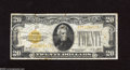 Small Size:Gold Certificates, Fr. 2402 $20 1928 Gold Certificate. Very Good. This note has decent color, but spots are plentiful....