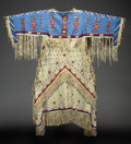 American Indian Art:Beadwork and Quillwork, A Sioux Beaded Hide Dress...
