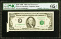 Error Notes:Attached Tabs, Butterfly Fold Error Fr. 2173-L $100 1990 Federal Reserve ...