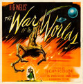"Movie Posters:Science Fiction, The War of the Worlds (Paramount, 1953). Six Sheet (79"" X 80.5"").From the Collection of Bruce Willis.. ..."