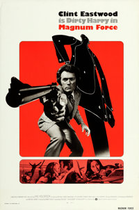 "Magnum Force (Warner Brothers, 1973). International One Sheet (27"" X 41""). From the collection of David Frangi..."
