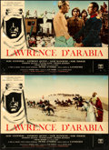 "Movie Posters:Academy Award Winners, Lawrence of Arabia (Columbia, 1962). Italian Photobusta Set of 12(27"" X 18.5"" & 36.5"" X 26.5).. ... (Total: 12 Items)"