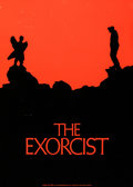 "The Exorcist (Warner Brothers, 1973). Advance Promotional Poster (22.25"" X 31.25"") Advance, Dan Perri Artwork..."