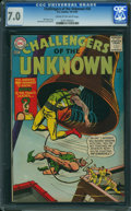 Silver Age (1956-1969):Adventure, Challengers of the Unknown #46 (DC, 1965) CGC FN/VF 7.0 CREAM TO OFF-WHITE pages.