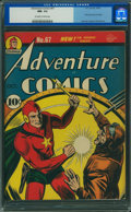 Golden Age (1938-1955):Superhero, Adventure Comics #67 (DC, 1941) CGC NM- 9.2 Off-white to white pages.