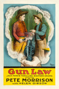 "Movie Posters:Western, Gun Law (Universal, 1919). One Sheet (27"" X 41"").. ..."