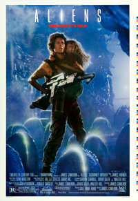 "Aliens (20th Century Fox, 1986). Printer's Proof One Sheet (28.25"" X 41""). From the collection of David Frangi..."