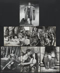"Movie Posters:Adventure, Samson and Delilah (Paramount, 1949). Stills (6) (10"" X 13.25"").Adventure.... (Total: 6 Items)"