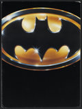 "Movie Posters:Action, Batman (Warner Brothers, 1989). Presskit (Two Stills, MultiplePages, 9"" X 12""). Action.... (Total: 3 Items)"