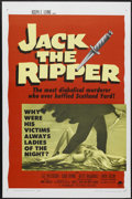 "Movie Posters:Mystery, Jack the Ripper (Paramount, 1960). One Sheet (27"" X 41"").Mystery...."