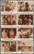 "Movie Posters:Cult Classic, Hot Rods to Hell (MGM, 1967). Lobby Card Set of 8 (11"" X 14""). Cult Classic.... (Total: 8 Items)"
