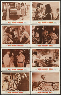 "Hot Rods to Hell (MGM, 1967). Lobby Card Set of 8 (11"" X 14""). Cult Classic.... (Total: 8 Items)"