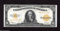 Large Size:Gold Certificates, Fr. 1173 $10 1922 Gold Certificate Choice About Uncirculated. Here is a Hillegas note that looks better than many uncirculat...