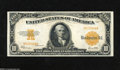 Large Size:Gold Certificates, Fr. 1173a $10 1922 Small Serial Number Gold Certificate Extremely Fine. Our experience is that the Small Serial Number varie...