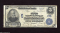 National Bank Notes:Pennsylvania, Williamsport, PA - $5 1902 Plain Back Fr. 598 The First NB Ch. # 175 This is a new note for the Kelly census of 20 Lar...
