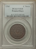 1785 Nova Constellatio Copper, Pointed Rays, Large Date, VF35 PCGS. PCGS Population: (40/190). NGC Census: (6/55). ...(P...