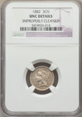 1882 3CN -- Improperly Cleaned -- NGC Details. Unc. NGC Census: (0/51). PCGS Population: (1/100). CDN: $315 Whsle. Bid f...