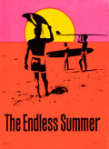 "Movie Posters:Sports, The Endless Summer (Personality Posters, 1966). Silk Screen Day-Glo Personality Poster (29"" X 40"") John Van Hamersveld Artwo..."