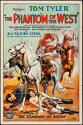 """Movie Posters:Serial, The Phantom of the West (Mascot, 1931). One Sheet (27"""" X 41"""") Chapter 2 -- """"The Stairway of Doom."""" Serial.. ..."""