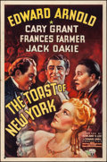 "Movie Posters:Drama, The Toast of New York (RKO, 1937). Folded, Fine/Very Fine. One Sheet (27"" X 41""). Drama.. ..."