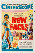 """Movie Posters:Musical, New Faces (20th Century Fox, 1954). Folded, Fine/Very Fine. OneSheet (27"""" X 41""""). Musical.. ..."""