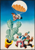 """Movie Posters:War, World War II Propaganda (Office of the Coordinator of Inter-American Affairs, 1941). Mexican Poster (14"""" X 19.75"""") Antonio A..."""
