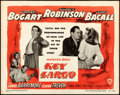 """Movie Posters:Film Noir, Key Largo (Warner Brothers, 1948). Title Lobby Card (11"""" X 14"""")From the Warner Media Archive.. ..."""