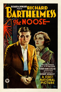"The Noose (First National, 1928). Very Good/Fine. One Sheet (27.5"" X 41"") Style B. Drama"