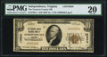 National Bank Notes:Virginia, Independence, VA - $10 1929 Ty. 1 The Grayson County NB Ch. # 10834PMG Very Fine 20.. ...