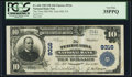 B Terre Hill, PA /B /I - $10 1902 Plain Back Fr. 626 B The Terre Hill NB /B /I Ch. # 9316 B PCGS Very Fine 35PPQ. /B /I...