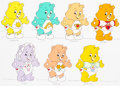 Animation Art:Color Model, The Care Bears Movie Size Comparison Color Model Cels Groupof 2 (Nelvana, 1985).... (Total: 2 Items)