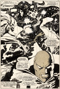 Original Comic Art:Splash Pages, Gene Colan and Tom Palmer Doctor Strange #180 Splash Page 2 Original Art (Marvel, 1969)....