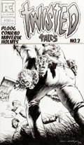 Original Comic Art:Covers, Bernie Wrightson Twisted Tales #2 Cover Original Art (Pacific Comics, 1983)....