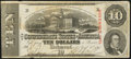 Confederate Notes:1863 Issues, T59 $10 1863 PF-26 Cr. 443.. ...