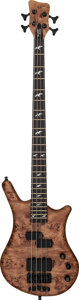 Musical Instruments:Bass Guitars, 2006 Warwick Limited Edition Thumb Dirty Blonde Electric Bass Guitar, Serial # 6 of 296....