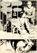 Original Comic Art:Panel Pages, Garry Leach Warrior Magazine #2 Story Page 1Marvelman/Miracleman Original Art (Quality Comm...