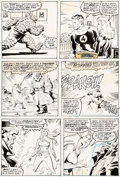 Original Comic Art:Panel Pages, John Buscema and Romeo Tanghal Fantastic Four #303 StoryPage 3 Original Art (Marvel, 1987)....