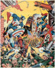 Alex Schomburg Captain America Signed Limited Edition Lithograph Print 106/150 (Buccaneer Graphics, 1984)