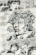 Original Comic Art:Panel Pages, Todd McFarlane and Al Milgrom Incredible Hulk #330 StoryPage 12 Original Art (Marvel, 1987)....