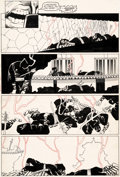Original Comic Art:Panel Pages, Frank Miller and Joe Rubinstein Wolverine Limited Series #4Story Page 11 Original Art (Marvel, 1982)....