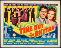"Time Out for Rhythm (Columbia, 1941). Title Lobby Card (11"" X 14""). Comedy"