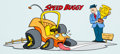Animation Art:Presentation Cel, Speed Buggy 7-11 Cup Design Cel (Hanna-Barbera, 1973)....