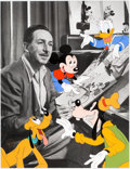"Animation Art:Limited Edition Cel, ""Walt's Drawing Board"" Limited Edition Cel #83/950 (Walt Disney, 1994)...."