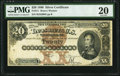 Large Size:Silver Certificates, Fr. 311 $20 1880 Silver Certificate PMG Very Fine 20.. ...