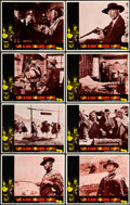 """Movie Posters:Western, For a Few Dollars More (United Artists, 1967). Lobby Card Set of 8 (11"""" X 14""""). From the collection of David Frangioni, au... (Total: 8 Items)"""