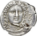 Ancients: BRUTTIUM. Croton. Ca. 400-325 BC. AR stater (22mm, 7.88 gm, 9h). NGC Choice XF 4/5 - 4/5, Fine Style