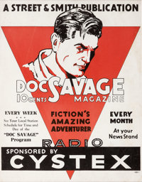 Doc Savage Magazine Advertisement (circa 1940s)