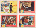 Memorabilia:Movie-Related, A Christmas Carol Lobby Cards Group of 7 (United Artists,1951).... (Total: 7 Items)