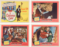 A Christmas Carol Lobby Cards Group of 7 (United Artists, 1951).... (Total: 7 Items)